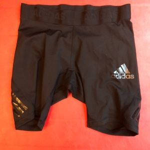 Adidas alphaskin compression shorts